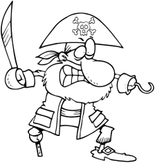 Beznohý pirát