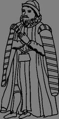 Modlící se muž