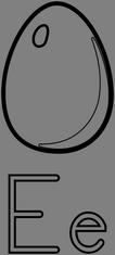 Písmeno E