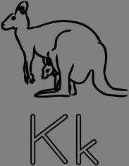 Písmeno K