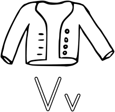 Písmeno V