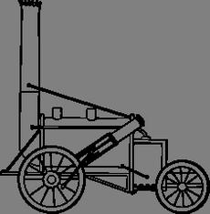 První lokomotiva