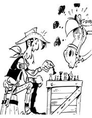 Šachový kovboj